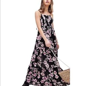 Free People garden party maxi dress NWT XS